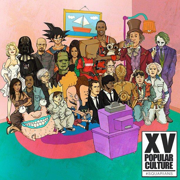 XV Popular Culture