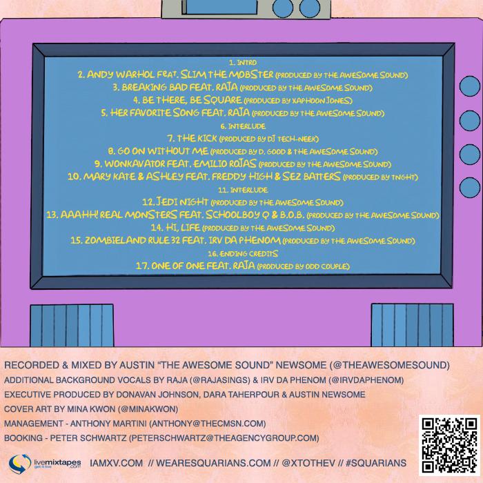 xv popular culture tracklist