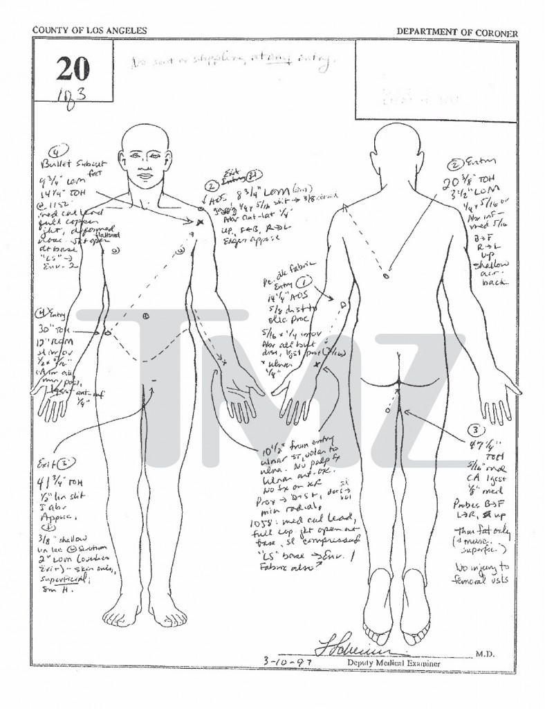 The Notorious B.I.G.'s Autopsy Report Released ...  The Notorious B...