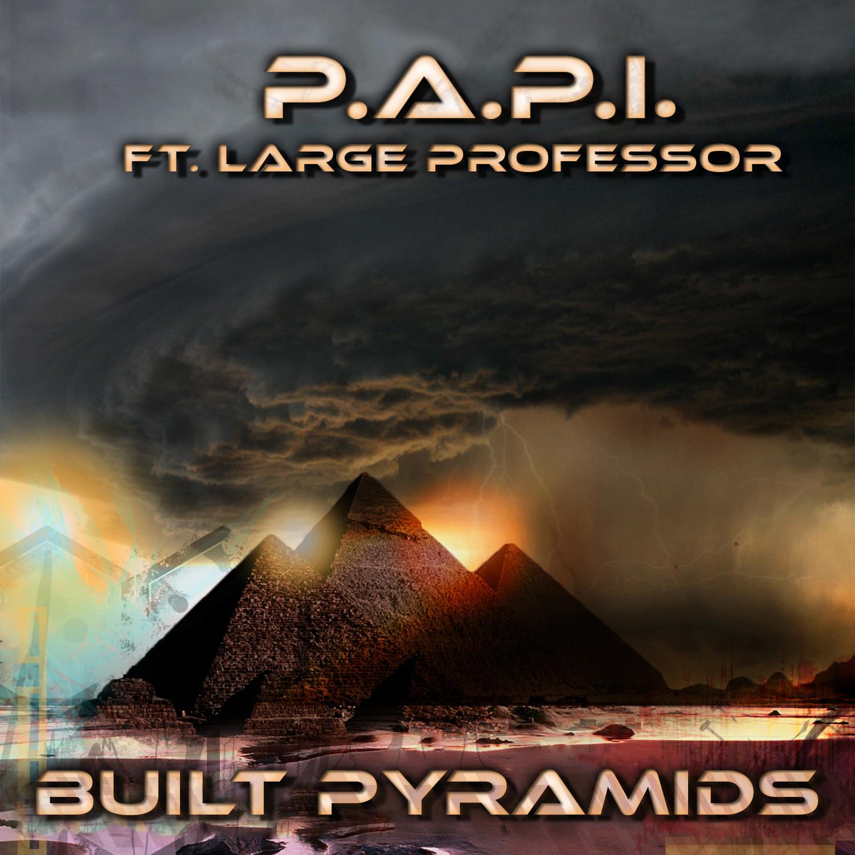 built pyramids