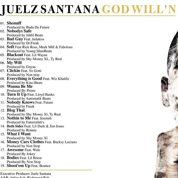 god willn tracklist