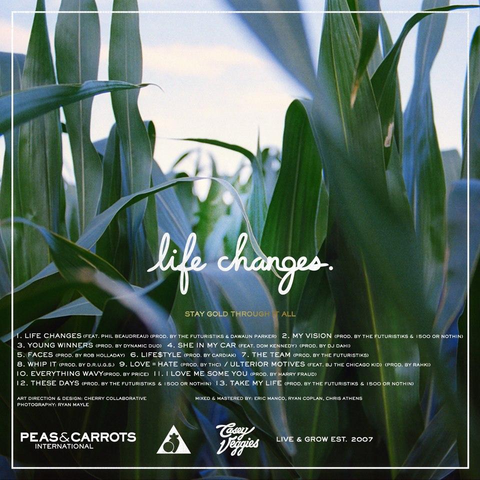 life changes tracklist