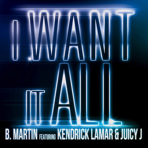 i want it all