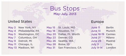 yahoo music tour dates