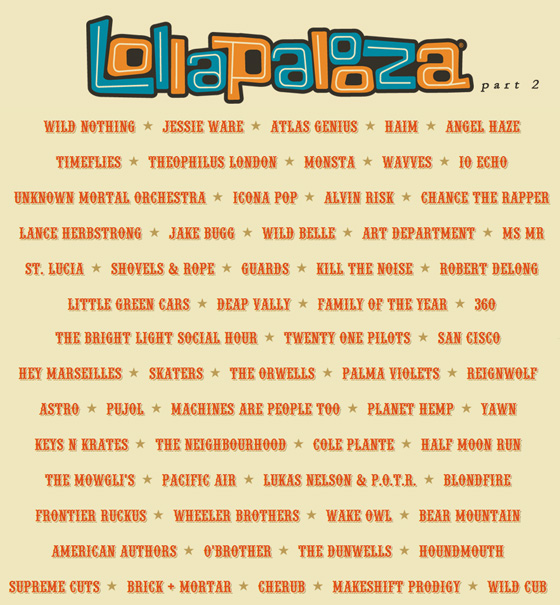 Lollapalooza-2013-Lineup-Part-2 official