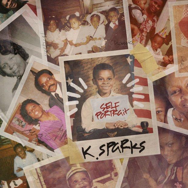 K. Sparks Self Portrait