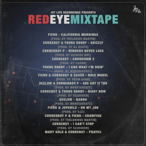 red eye tracklist