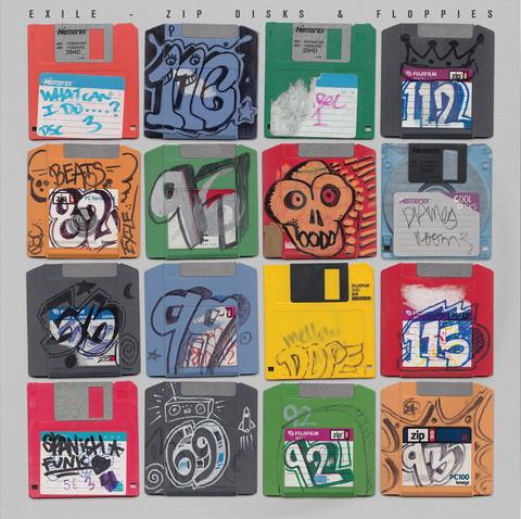 Exile Zip Disks & Floppies